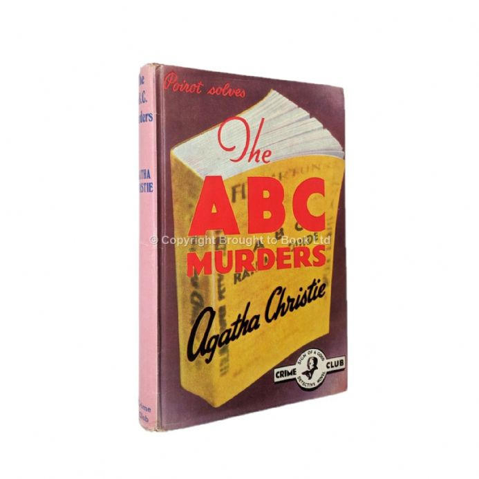 The ABC Murders by Agatha Christie Reprint Collins for The Crime Club 1972